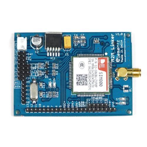 M2M Linker Arduino Compatible ATMEGA328 & SIM800