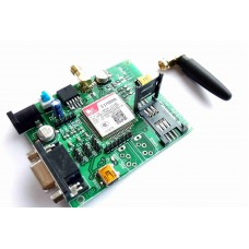 SIM800 GSM MODEM MODULE WITH  SMA ANTENNA (RS232, TTL AND USB)