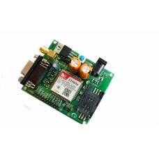 SIM800 GSM MODEM MODULE WITH  SMA ANTENNA (RS232, TTL )
