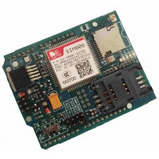 SIM808 Arduino Shield for GSM / GPRS GPS / GNSS tracking with CALL & SMS facility