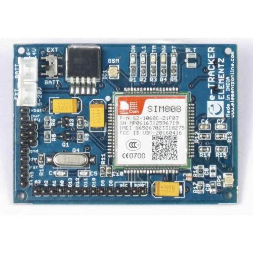 e-Tracker Arduino Compatible ATMEGA328 & SIM808 based GSM