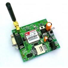 SIM900A GSM MODEM MODULE with SMA ANTENNA (RS232, TTL, I2C OUTPUT)