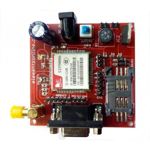 SIM900A GSM MODEM MODULE V1 2 with SMA ANTENNA