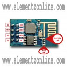 ESP8266 ESP-01 SERIAL UART WIFI WIRELESS TRANSCEIVER IOT MODULE - 3.3V - SUPPORT AP STA