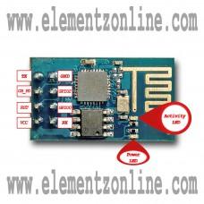 ESP8266 ESP-01 SERIAL UART WIFI WIRELESS TRANSCEIVER IOT MODULE - 3.3V - SUPPORT AP STA