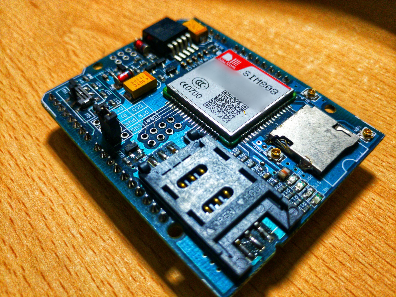 Interfacing microSD card with SIM808 GSM GPS Arduino shield
